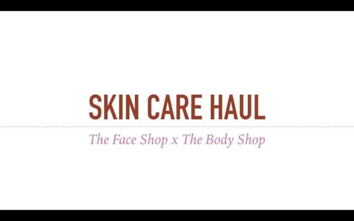 SKINCARE HAUL x ACNE TIPS